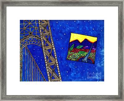 Bridge Framed Print
