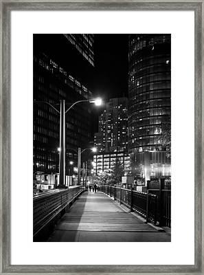 Long Walk Home Framed Print by Melinda Ledsome