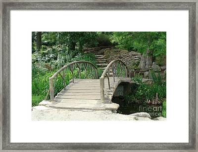 Bridge To A New Life Framed Print by Janette Boyd