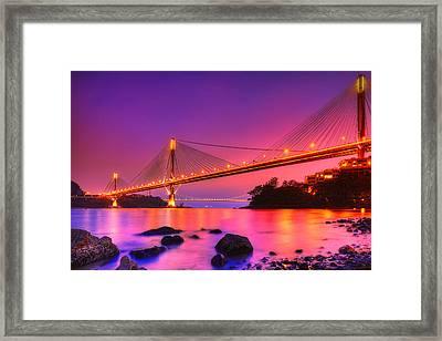 Bridge To Dream Framed Print by Midori Chan