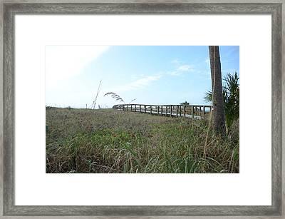 Bridge To Dreams Framed Print by Julie Cameron