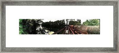Bridge To La La Land Framed Print by Erica Springer