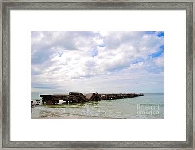 Framed Print featuring the photograph Bridge To Nowhere by Margie Amberge