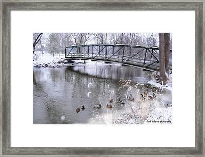 Bridge To Success Framed Print by Frank Sciberras