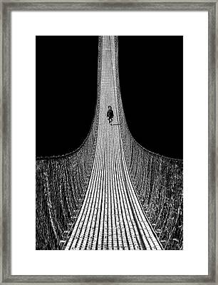 Bridge To The Future Framed Print