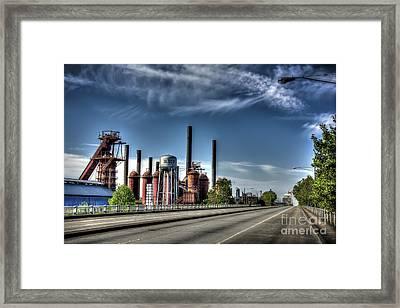 Bridge To The Past Framed Print
