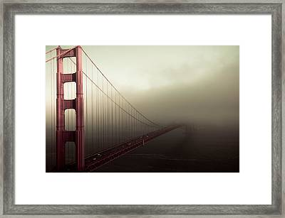 Bridge To The Unknown Framed Print by Jeffrey Yeung