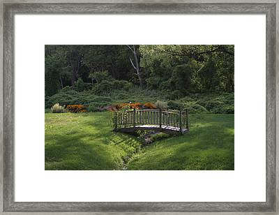 Bridge To Tranquility  Framed Print