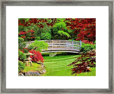 Bridge To Tranquillity Framed Print