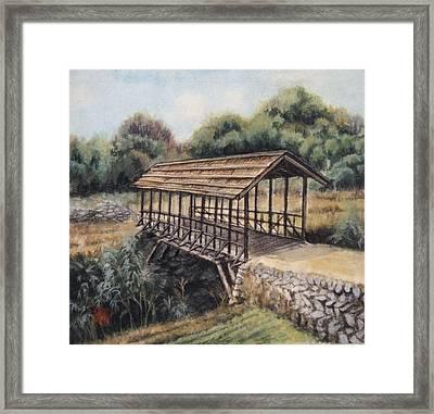 Bridge Framed Print by Tomoko Koyama