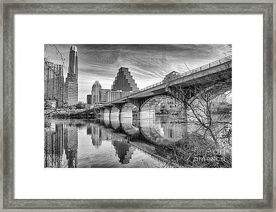 Bridge Toward Austin Framed Print by Terri Morris