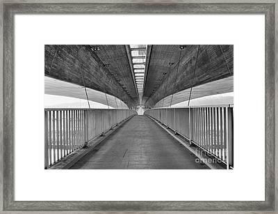 Bridge Under The Bridge Framed Print by Jan Havlicek
