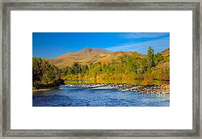 Bridge View Framed Print by Robert Bales