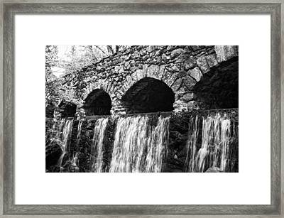 Bridge Water Framed Print by Kenneth Feliciano