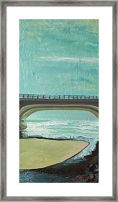 Bridge Where Waters Meet Framed Print by Joseph Demaree