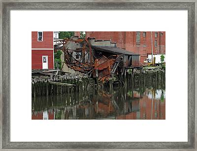 Bridgeport 3 Framed Print by Steve Breslow