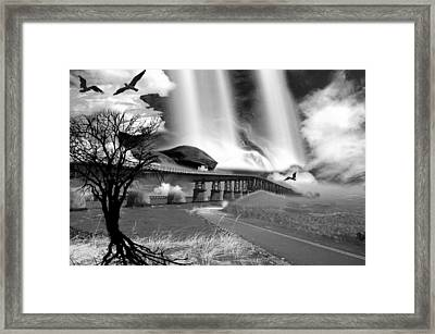 Bridgeroad Framed Print by Kevin Cable