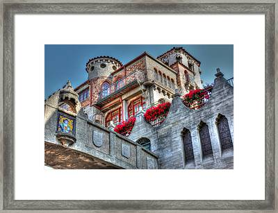 Bridges And Balconies Hdr Framed Print