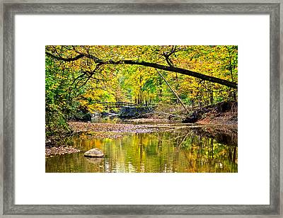 Bridges Current And Future Framed Print by Frozen in Time Fine Art Photography
