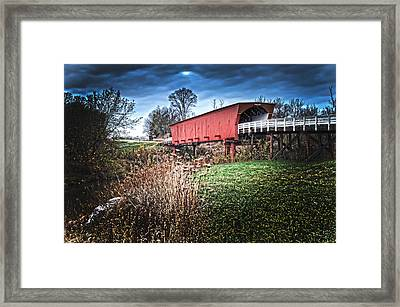 Bridges Of Madison County Framed Print by Randall Branham