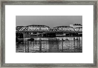 Bridges Over Forever Framed Print