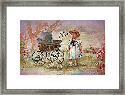 Framed Print featuring the painting Bridget by Patricia Schneider Mitchell