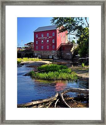 Bridgeton Mill 2 Framed Print