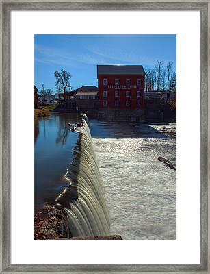 Bridgeton Mill Framed Print by Thomas Sellberg