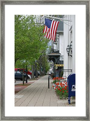 Bridgewater Ma Framed Print