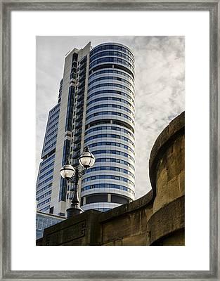 Bridgewater Place Framed Print by Pablo Lopez
