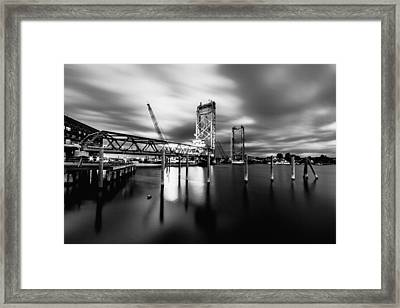 Bridging Framed Print
