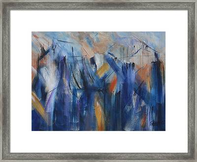 Bridging Framed Print