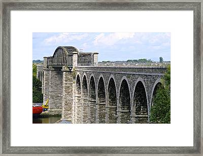 Bridging The Boyne Framed Print