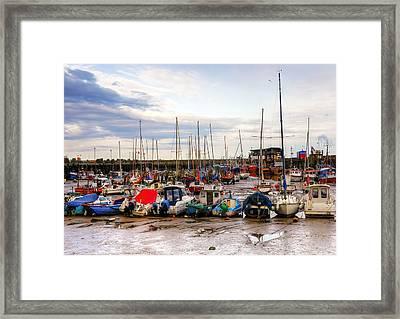 Bridlington Harbour Framed Print by Svetlana Sewell