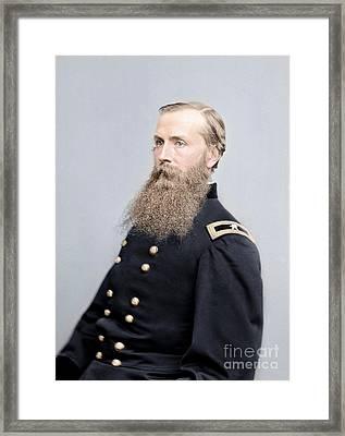 Brigadier General Charles K Graham Framed Print by Celestial Images