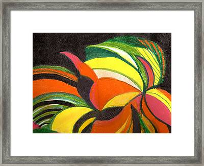 Bright Abstract II Framed Print by Anne-Elizabeth Whiteway