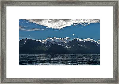 Framed Print featuring the photograph Bright And Cloudy by Aimee L Maher Photography and Art Visit ALMGallerydotcom