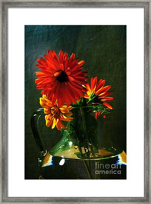 Bright And Dominant Framed Print