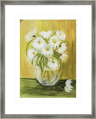 Bright And Sunny Framed Print by Nancy Edwards