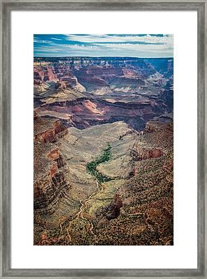 Bright Angel Trail Framed Print