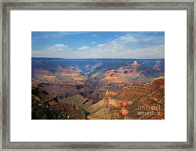 Bright Angel Trail Grand Canyon National Park Framed Print