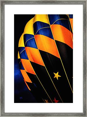 Bright Balloon  Framed Print by Karol Livote