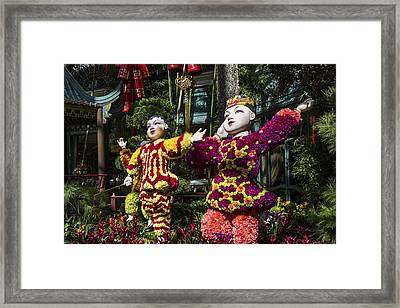 Framed Print featuring the photograph Bright Boys by Glenn DiPaola