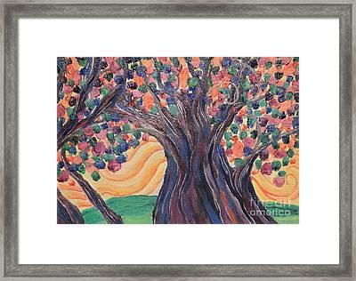 Bright Breeze Framed Print