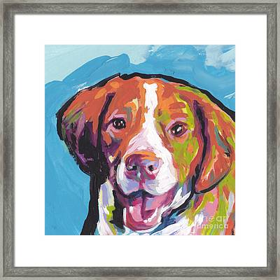 Bright Brit Framed Print by Lea S