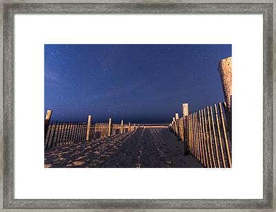 Bright Dunes Framed Print by Kristopher Schoenleber