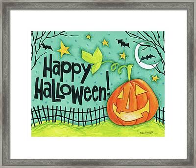 Bright Halloween I Framed Print