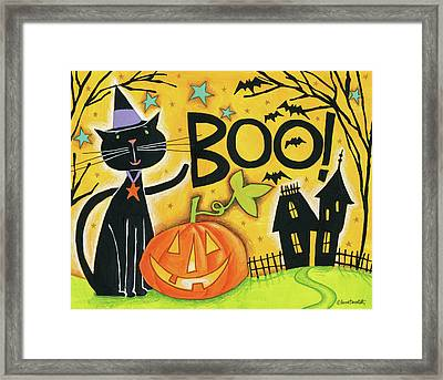 Bright Halloween II Framed Print