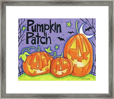 Bright Halloween Iv Framed Print