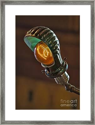 Bright Idea Framed Print by Susan Candelario
